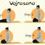 vajrasana steps in tamil