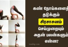 sirsasana benefits in tamil