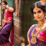 Meenakshi-Govindharajan-Latest-saree-photos