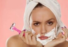how to remove facial hair in tamil
